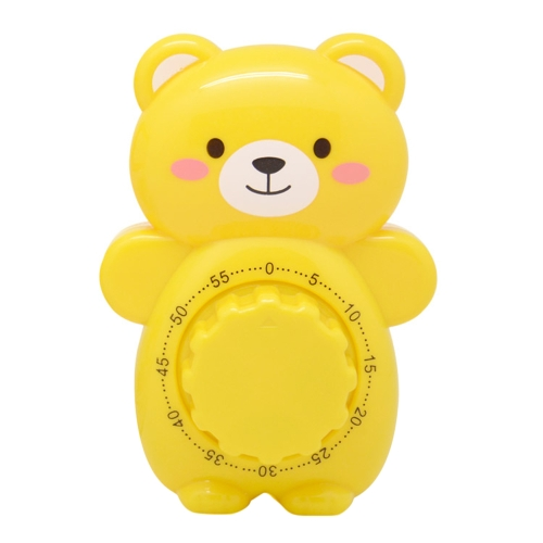 Cartoon Teddy Bear Timer Vida creativa Lovely Kitchen Cooking Student Tarea temporizador de plástico