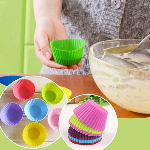 DIY Chocolate Cake Puff Mold Egg Tart Mould Muffin Cups Baking Tool Cake Decor Wrapping Paper