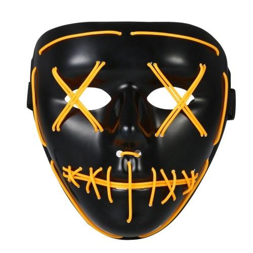 Erwachsene Halloween LED Leuchten Maske