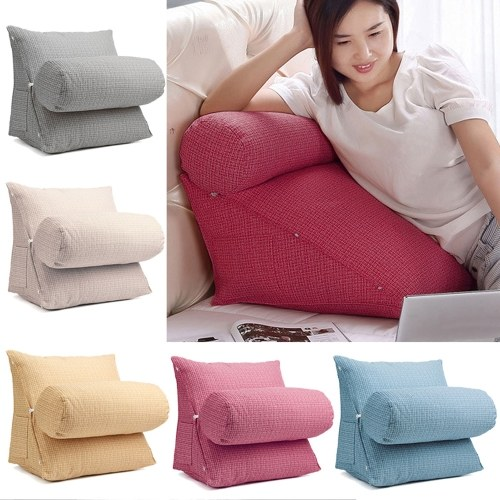 TOMTOP / Neck Waist Support Back Wedge Cushion Pillow