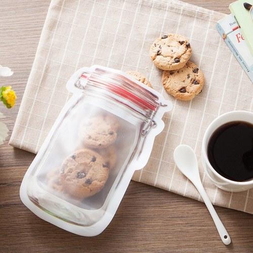 4pcs Transparent Food Fresh-keeping Bag