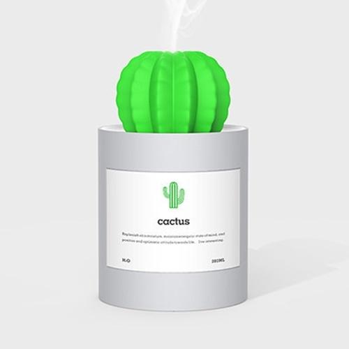 Umidificatore creativo del purificatore d'aria del cactus del regalo del mini del giardino domestico portatile di USB