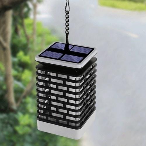 Solar Flame Laterne Lampe im Freien wasserdichte LED-Licht