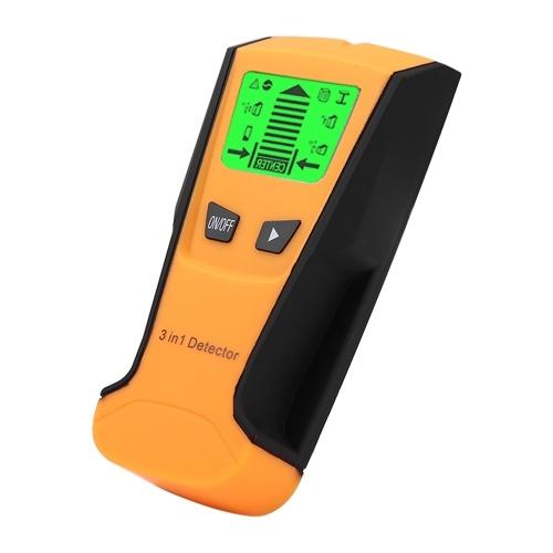 3-in-1-Metalldetektor Finden Sie Metall-Holzbolzen-Live-Drahtdetektor