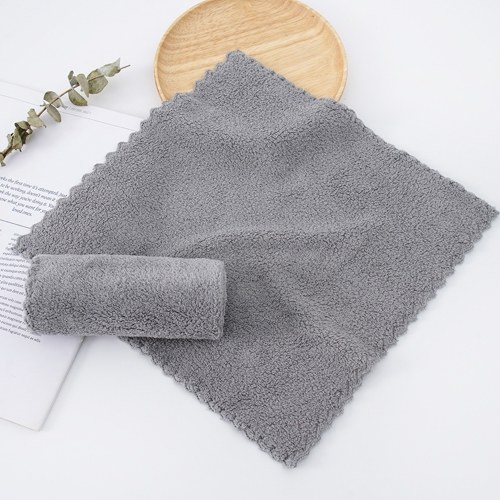 Soft Fluffy Towels Microfiber Cleaning Cloth Kitchen Dish Towels Microfiber Salon Towels Water Absorbent Fast Drying Multipurpose Soft Lint Free Towels for Spa Hotels Home