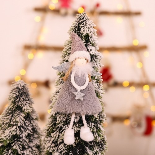 Christmas Decoration Angel Doll Pendant Tree Hanging Ornaments Christmas Crafts Elves Decorations