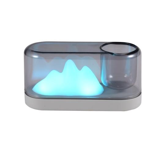 Luz LED en forma de montaña de luz nocturna colorida