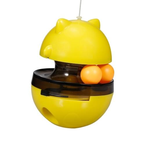 Cat Food Dispensing Ball Cat Tracks Tumbler Treat Ball