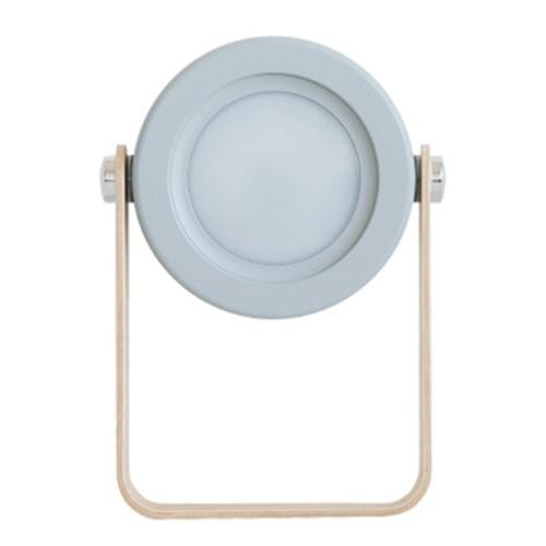 Lampada da tavolo pieghevole 3D con luce notturna a lanterna