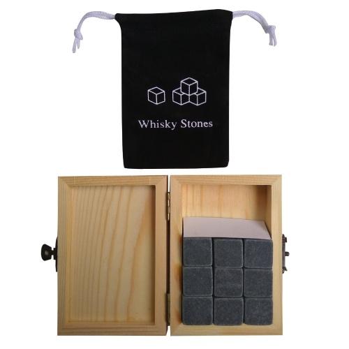 9PCS Whiskey Stones Set