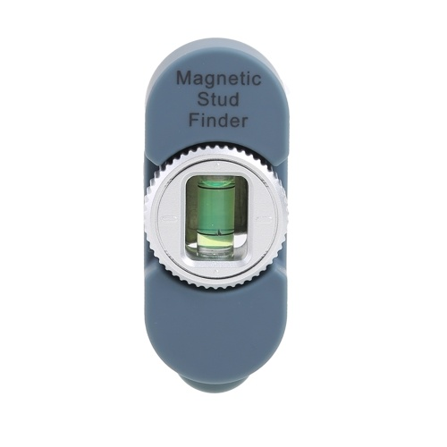 Magnetic Stud Finder Stud Sensor Level Wall Scanner Wall Detector Center Finding, Black
