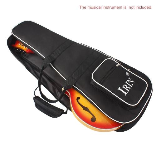 Zaino con cerniera doppio di alta qualità per mandolino addensare spalla Gig Bag Custodia Frabic 28