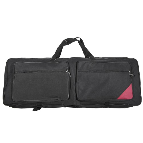 73-Key 76-Key Keyboard Electric Piano Organ Gig Bag Soft Case 46.4
