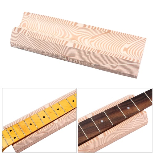 Musical Instrument Luthiers Tool Guitar Neck Fingerboard Support U-block Foam Wood Grain