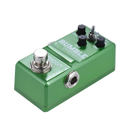 ammoon Nano Series Round and Smooth Style Overdrive Guitar Effect Pedal True Bypass Aluminum Alloy Body