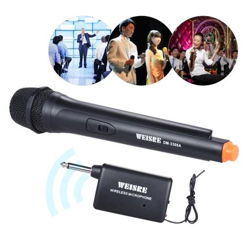 Handheld Wireless unidirezionale microfono dinamico amplificatore di voce per il Karaoke Meeting cerimonia Promozione