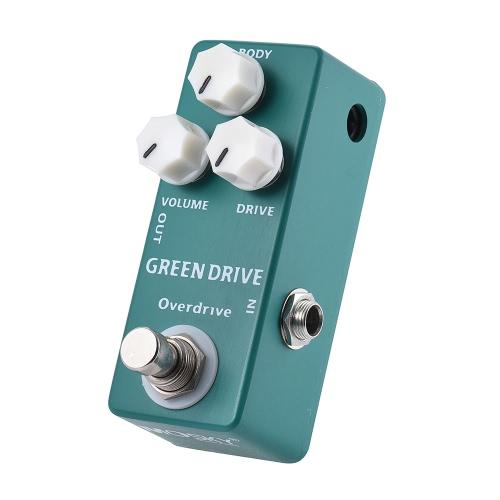 Mosky MP-53 Green Drive Overdrive Mini chitarra effetto pedale singolo True Bypass