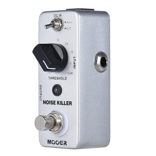 MOOER NOISE KILLER Mini redukcja szumów Pedał efektów gitarowych 2 tryby True Bypass Full Metal Shell