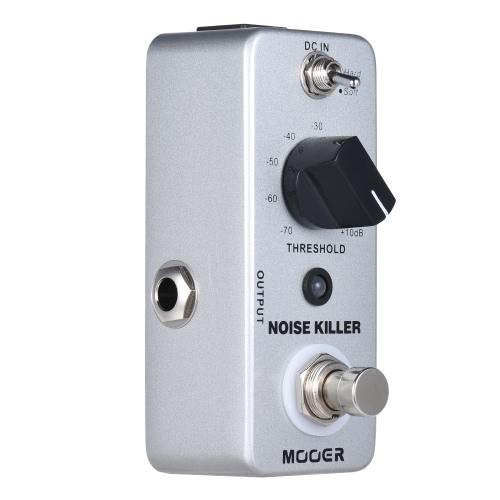 MOOER NOISE KILLER Mini Noise Reduction Guitar Effect Pedal 2 Modes True Bypass Full Metal Shell