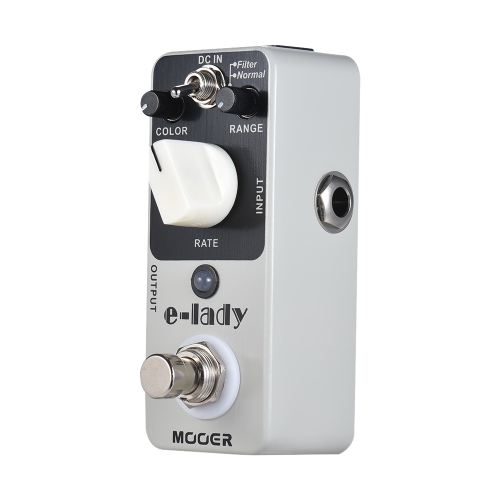 MOOER e-lady Analog Flanger Guitar Effect Pedal 2 Modes True Bypass Full Metal Shell