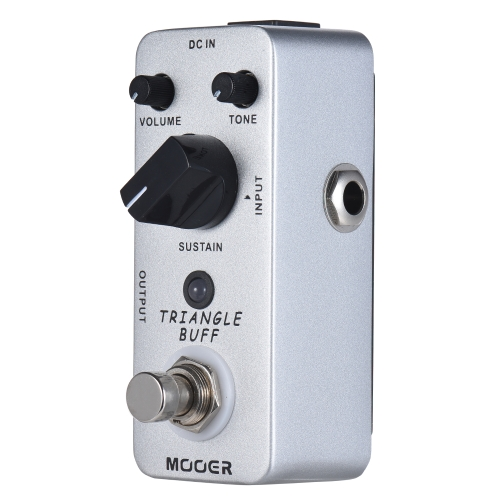 MOOER TRIANGLE BUFF Fuzz Guitar Effect Pedal True Bypass Full Metal Shell