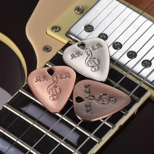 El metal de la guitarra 3pcs