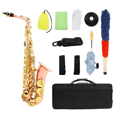 Dual-color Eb Alto Saxophone Sax