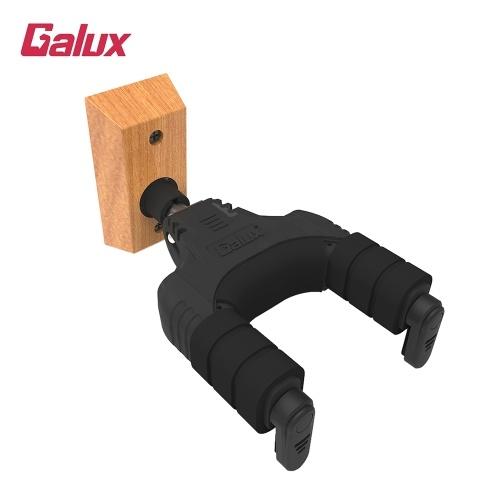 Porte-crochet pour crochet de guitare GALUX GH-110W à verrouillage automatique