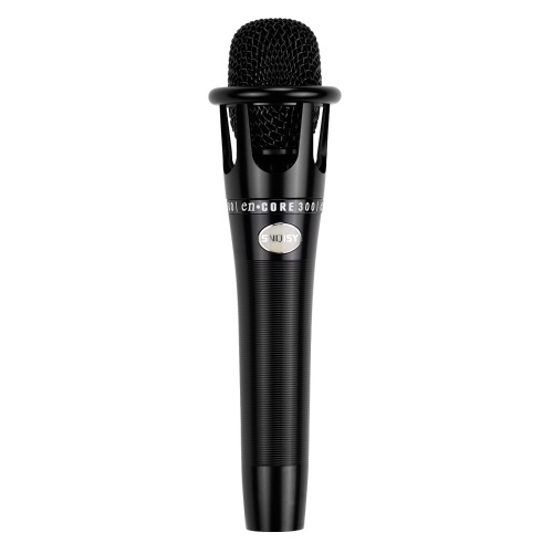 Cardioid Condenser Vocal Microphone Metal Structure 3-pin XLR to 3.5mm TRS for Karaok Singing Stage Live Streaming Podcast