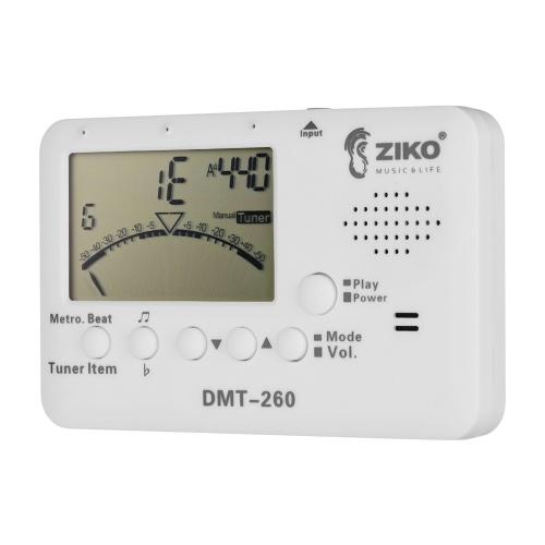 ZIKO DMT-260 Multifunction Tuner Metronome