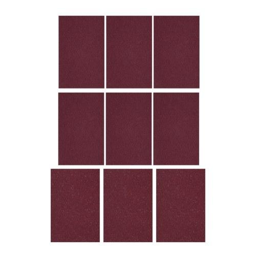 Набор из 9 листов абразивной бумаги, включая 3 наждачной бумаги с зернистостью 320 + 6 шт. С наждачной бумагой с зернистостью 240, набор инструментов для гитары Luthier