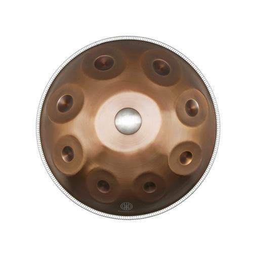 22-дюймовая ручная сковородка Ручной барабан D-Key 9 примечания (D3 A3 bB3 D4 F4 A4 G4 E4 C4)
