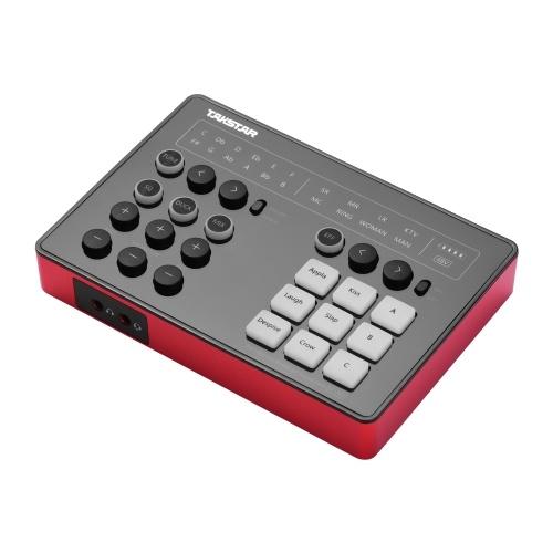Tarjeta de sonido portátil para transmisión en vivo TAKSTAR SC-M1 con DSP