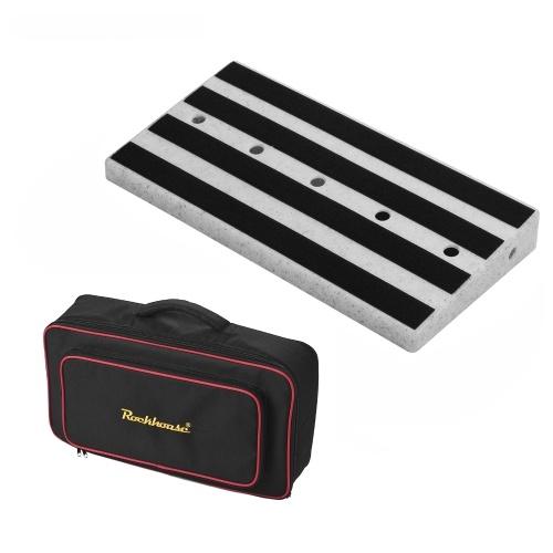 Rockhouse RPB-2 Large Portable Guitar Effect Pedal Board