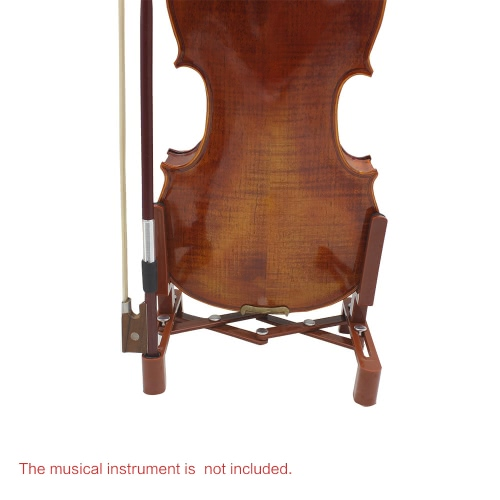 Universal Adjustable Stand Holder for Full Size 4/4 3/4 1/2 1/4 Violin Part Accessory Plastic Foldable Extended Portable Sponge Pad