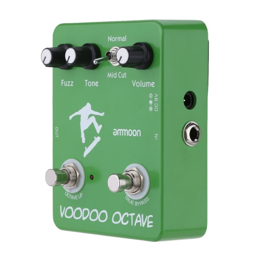 andreagiallorosso AP-12 Voodoo Octave Fuzz effetto chitarra effetto pedale True Bypass