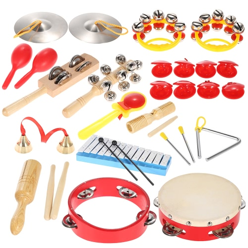 Percussion Set Kids Children Toddlers Musical Toys Strumenti