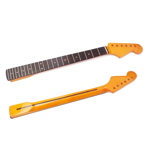 Fender Stratocaster Neck >> Exquisite Gloss 22 Frets New Replacement Maple Neck Rosewood