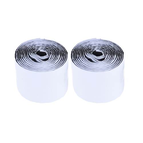 Pedalboard Pedal Mounting Tape Fastener Length 2M Width 5CM for Guitar Pedal Board, 2-Pack (1 Hook + 1 Loop)