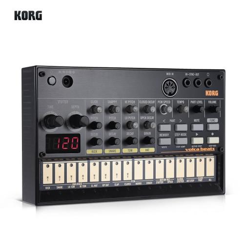 KORG VOLCA BEATS Sintetizzatore sequencer analogico portatile per Rhythm Machine