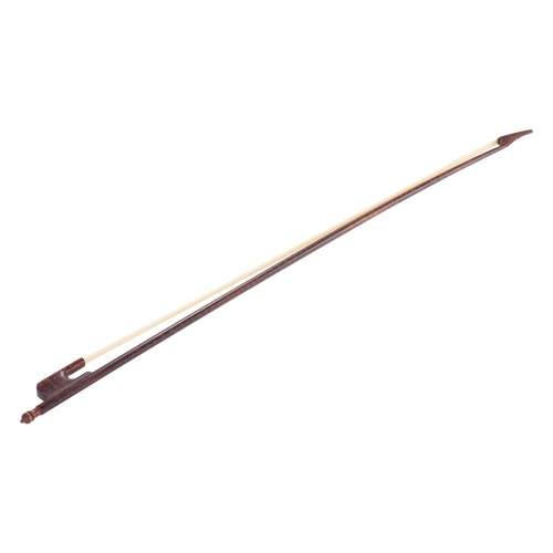 Well-balanced Baroque Style Snakewood 4/4 Cello Bow Horsehair Round Stick Outward Camber