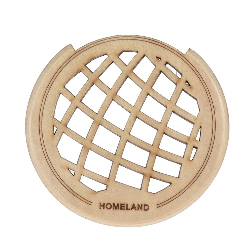 Guitar Wooden Soundhole Sound Hole Cover Block Feedback Buffer Maple Wood for 40