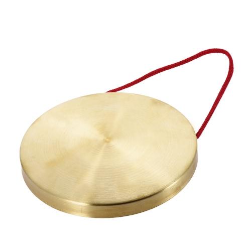 22センチメートル手Gongシンバル黄銅銅チャペルオペラパーカッション楽器ラウンドプレイハンマー