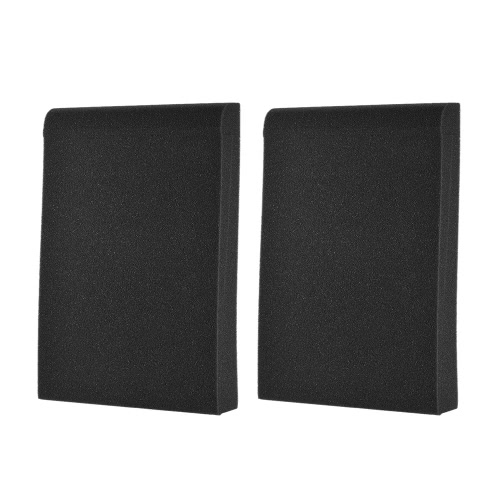 2 Pack Studio Monitor Speaker Isolation Acoustic Foam Pads Max. 9.6