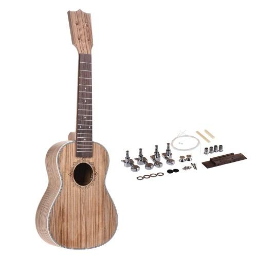 23in Konzert Ukelele Ukulele Hawaii Gitarre DIY Kit