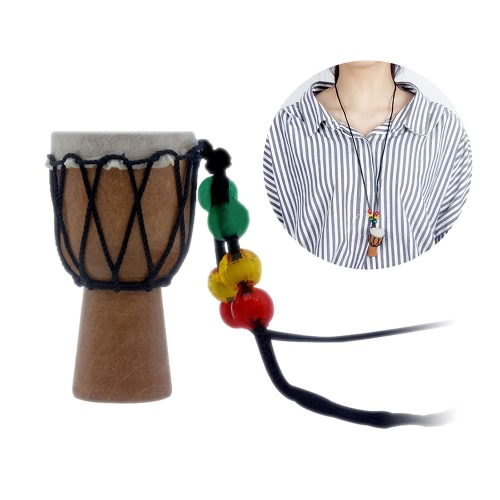 Dejembe African Drum Necklace Percussion Instrument Accessories
