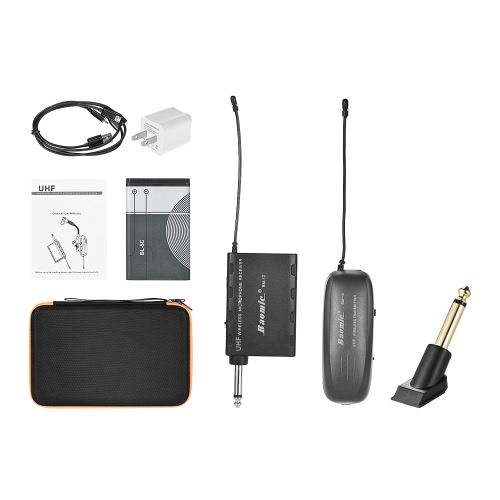 Baomic BM-12A Professional UHF Wireless Instrument Microphone System