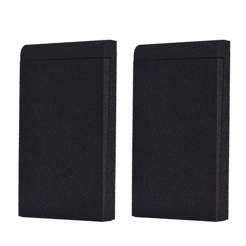 EPP05 Studio Monitor Speaker Acoustic Foam Shockproof Sound Isolation Pads for 5 Inches Studio Monitors, 2pcs/ set