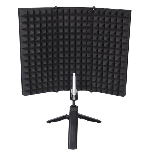 Micrófono de grabación Tablero de la pantalla del viento Micrófono de cubierta que absorbe el sonido