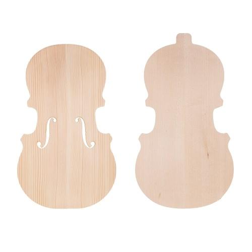 Handcraft Unfinished Fiddle Violin